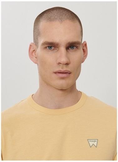 Wrangler Wrangler W7AXGYA11_Logo T-shirt  Sarı